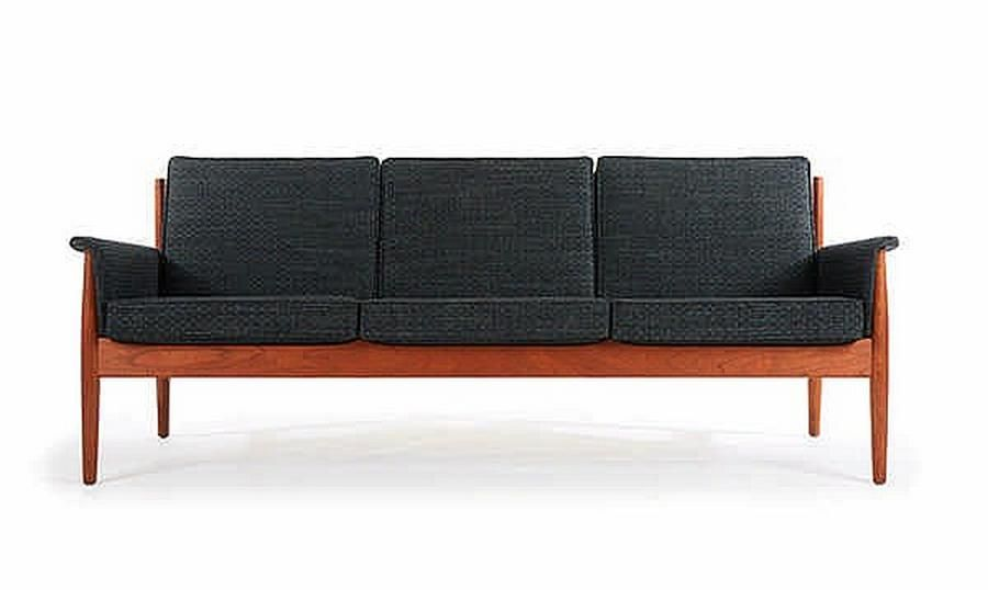 A Grete Jalk sofa. C. 1960s, Denmark. Manufactured by France ...