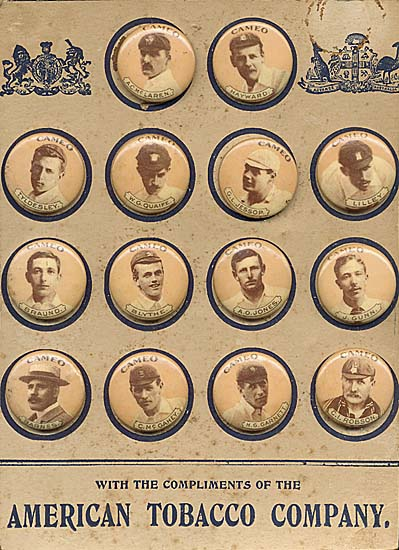Complete set of 'American Tobacco Company', 1901 Australian
