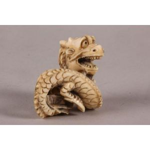 1ce44231c964 carved Japanese ivory netsuke - price guide and values - page 2