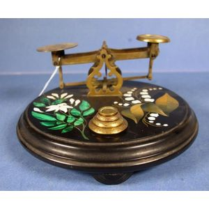 vintage postal scales - price guide and values