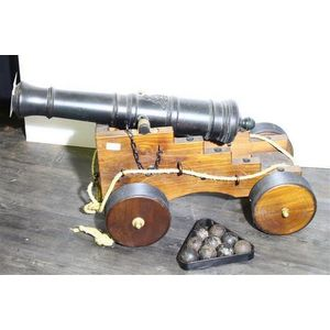 vintage canons and accessories weapons - price guide and values