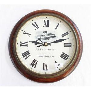 Japanese Seikosha Railway Clock Circa 1920s With New