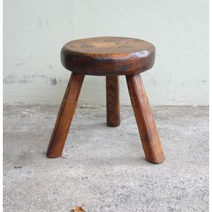Fantastic Antique Wooden Milking Stool Price Guide And Values Pabps2019 Chair Design Images Pabps2019Com