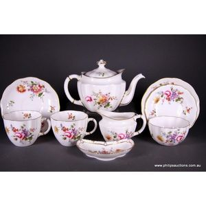 Royal Crown Derby (England) tea sets - price guide and values