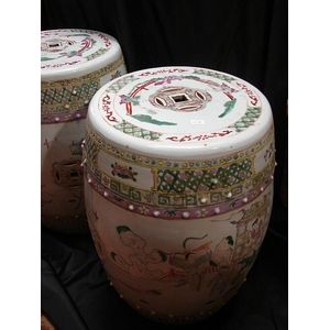 Chinese Ceramics Garden Seats And Stools Price Guide