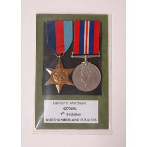 PACIFIC STAR  MINIATURE MEDAL RIBBON OLD SILK//COTTON 6 INCHES