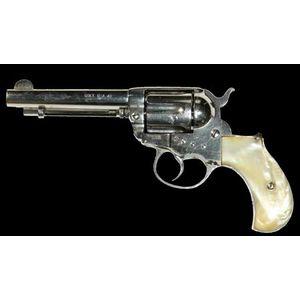 Colt 'Thunderer' model 1877  41 calibre 3 1/2' barrel  75% of