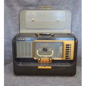 Zenith Radios Carter's Price Guide To Antiques And Collectables. A Zenith Transoceanic Wave Mag 540 Plete With Manual Spare Valves Cover 110v Serial Number 440540 30 X 44 20 Cm. Wiring. Zenith Radio Schematic 7h920 At Scoala.co