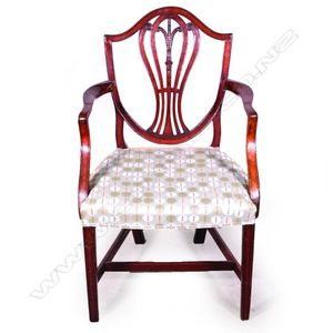 Antique Carver Or Elbow Chairs Singles Pairs And Threes Price Guide And Values
