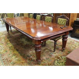 Antique Extension Dining Table Price Guide And Values