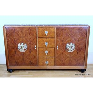 Art Deco Sideboard Price Guide And Values
