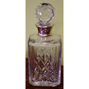 c63b3ee67ef silver mounted decanters - price guide and values
