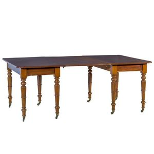 William IV Mahogany Extension Table Circa 1835 Single Leaf 74 Cm High 192 Long Extended 121 Width Show 20 More Like This