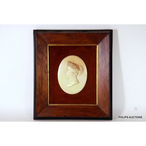 Print circa 90 years old the Marriage of Queen Victoria available framed x