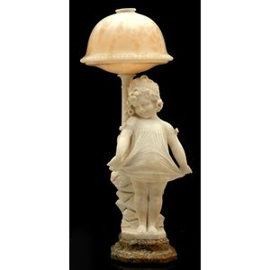 late 19th century and early 20th century alabaster and