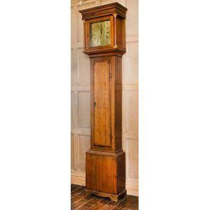 antique 18th century grandfather / longcase clock - price