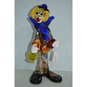 Venetian / Murano glass clowns - price guide and values
