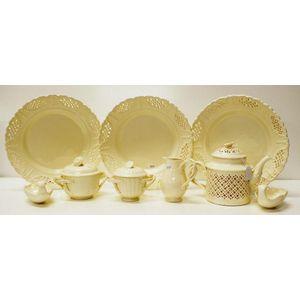 Wedgwood Leedsware tableware Leedsware