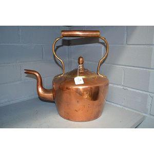 antique copper kettle prices