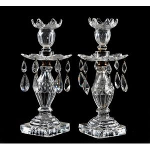Pair Of White Silver Distressed Cherub 21 cm Candlesticks Holders