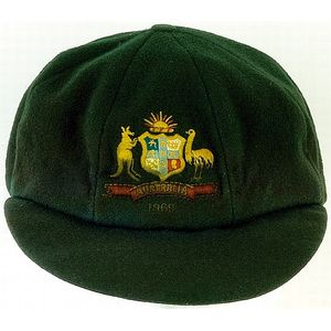 24c053c8ad2 Alan Connolly s Australian  Baggy Green  test cap