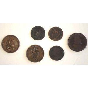 AUSTRALIA 1921 VF ONE PENNY COIN