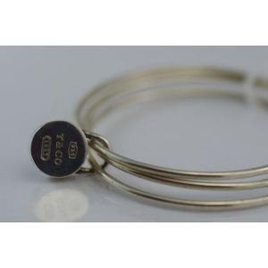 bd8dee0a0 Tiffany & Co sterling silver padlock bangle. Show 3 more like this