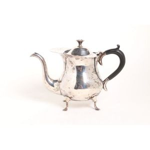 Georgian English silver Cream jug Maker Joseph Craddock hallmarked for London 1800.
