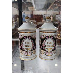vintage chemist jars and bottles - price guide and values