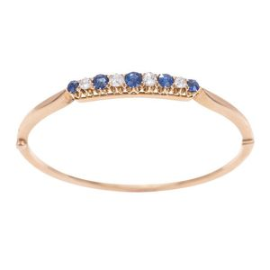 Sapphire Bangles Carter S Price Guide To Antiques And Collectables