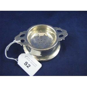 Strainers Tea And Other Silver Price Guide And Values