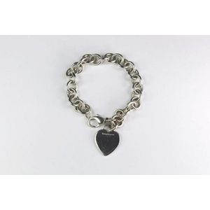 893ae5375 Vintage Tiffany heart tag bracelet, with London hallmarks approx 18 cm  long, 34g. Show 2 more like this