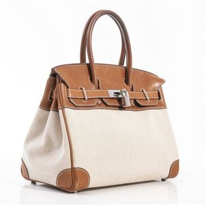8733f6a77be1 ... discount a birkin bag by hermes the 30 cm birkin styled in barenia  calfskin and beige