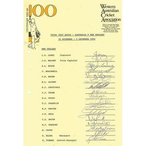 cricket memorabilia photographs - price guide and values