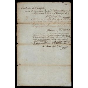 historical Colonial documents - price guide and values
