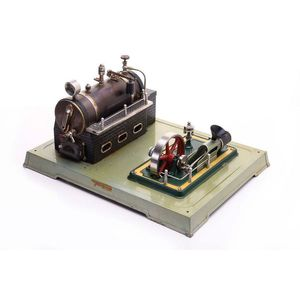 vintage collectable steam engines and other models - price