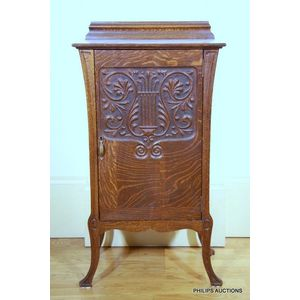 Antique Music Canterbury Or Cabinet Price Guide And Values