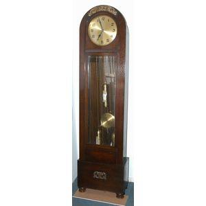 Antique German Grandfather Longcase Clock Price Guide