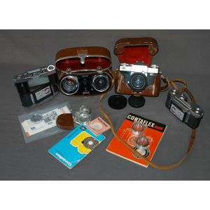 vintage Contaflex camera - price guide and values