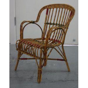 Vintage Childu0027s Cane Chair, 60 Cm High