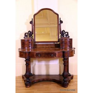 Antique Walnut Dressing Table Price Guide And Values