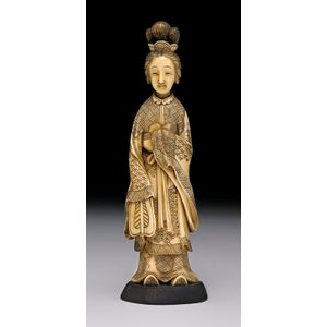 Chinese Oriental Ivory Figures Groups And Other Items Price