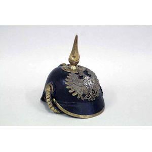 vintage Bavarian pickelhaube military helmets - price guide and values