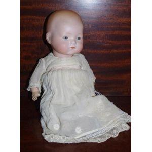 Doll Head Marked A.M 341//3 Germany Handmade New Porcelain Full Head