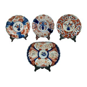 Japanese Imari plates, dishes and plaques - price guide and values