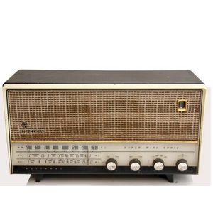 vintage National Panasonic radio - price guide and values
