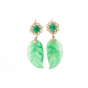 jade earrings - price guide and values