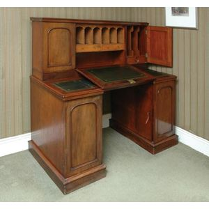Antique Dickens Style Desk Price Guide And Values