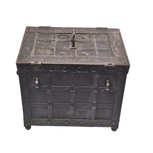 Lid Support for Easy Opening Antique /& Modern Furniture Such as Trunk Box Cast Brass Trunk Lid Lift Trunk Hardware TKH-45 Chest