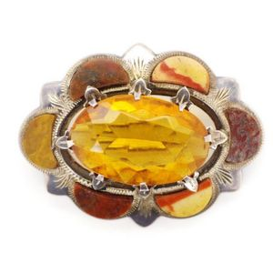 925 Sterling Silver 9 x 12 MM Oval 5.20 Ct Amber Gemstone Vintage Women Ring